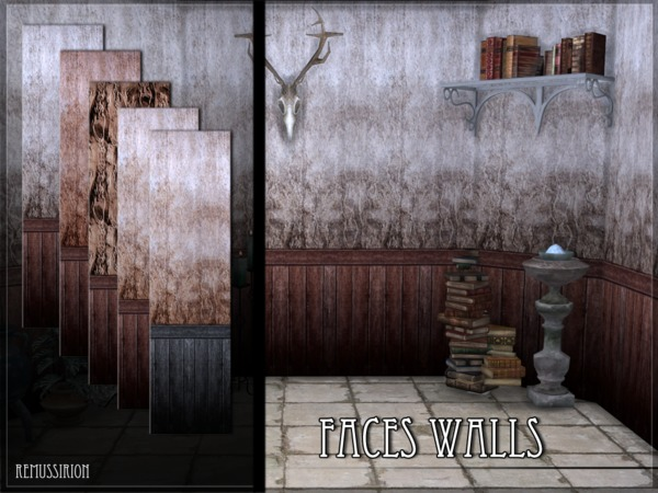 Faces Walls by RemusSirion