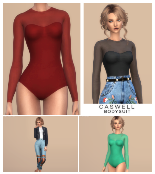 Caswell Bodysuit by christopher067