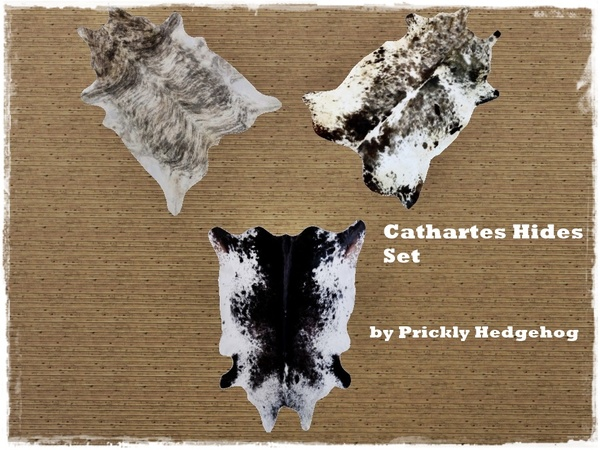 Cathartes Hides Set by Prickly Hedgehog
