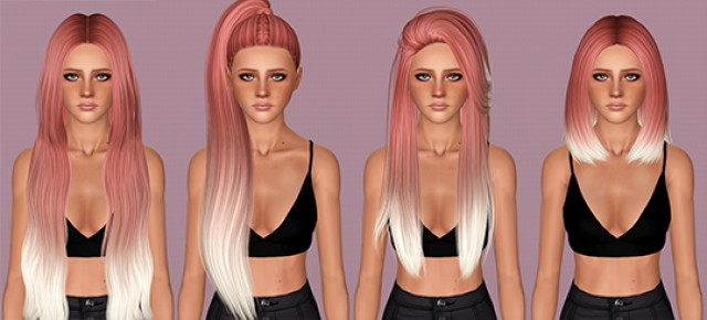 Hairs dump #82 - Simpliciaty Hairs by IfcaSims
