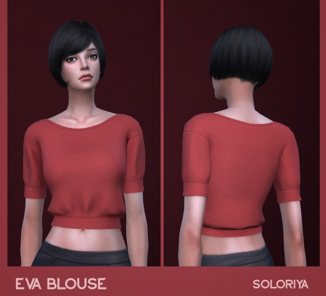 Eva blouse by Soloriya