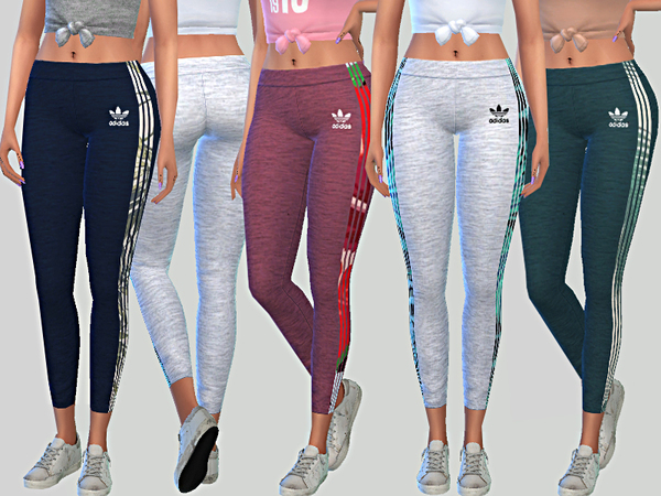 Adidas Summer Leggings 05 by Pinkzombiecupcakes