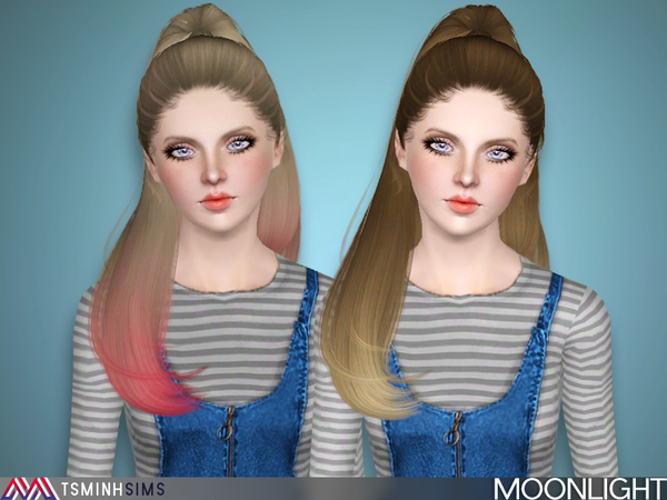 Moonlight ( Hair 27 ) by TsminhSims