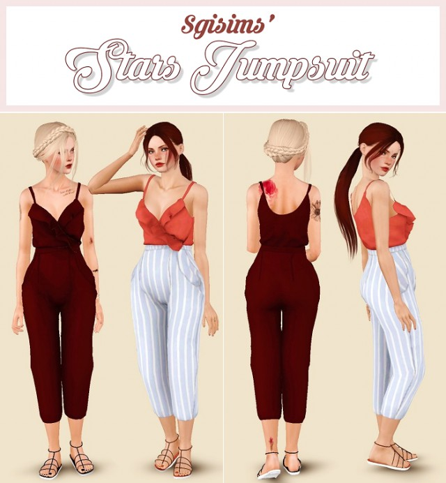 Stars Jumpsuit by Sgisims