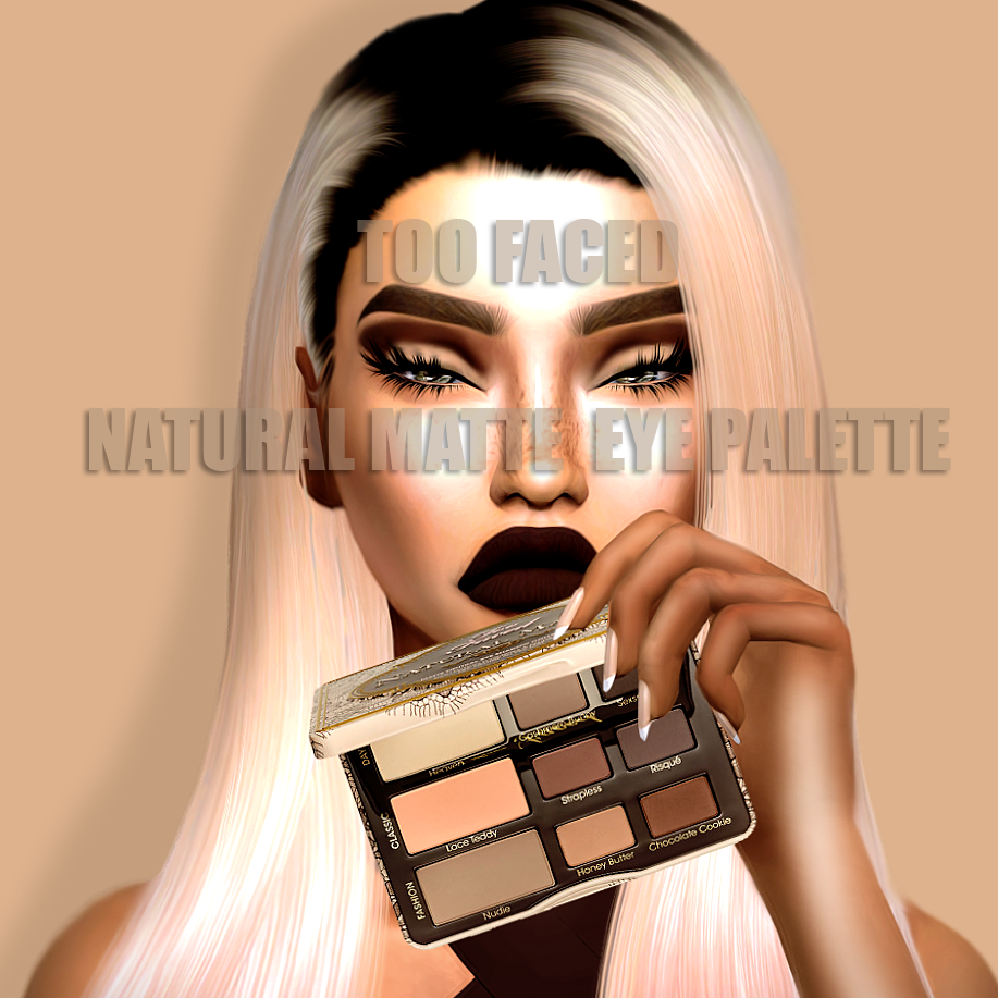 Too Faced Natural Matte Eye Palette by kimbabylee