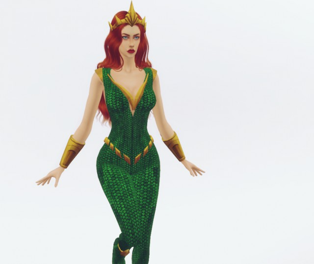 Character - Mera from DC Comics by Plazasims