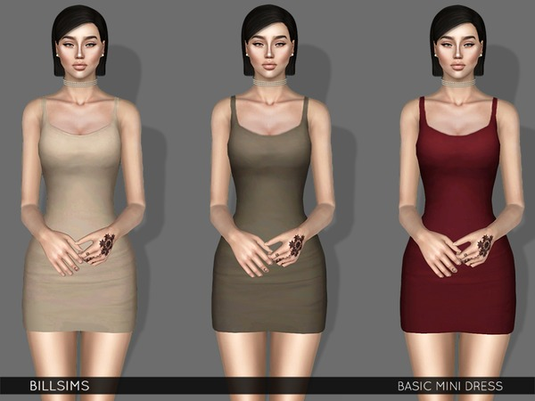 Basic Mini Dress by Bill Sims
