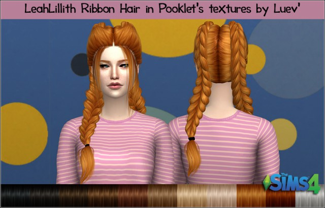 LeahLillith Ribbon Pooklet by Mertiuza