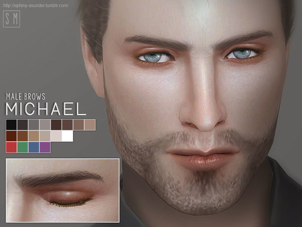 [ Michael ] - Male Eyebrows by Screaming Mustard