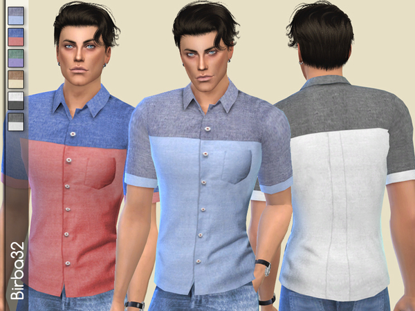 Two colours shirt by Birba32