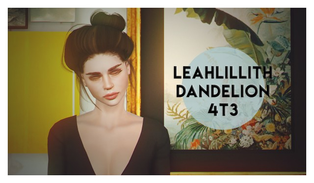 4t3 conversion of leahlilliths dandelion hair by deggdegg