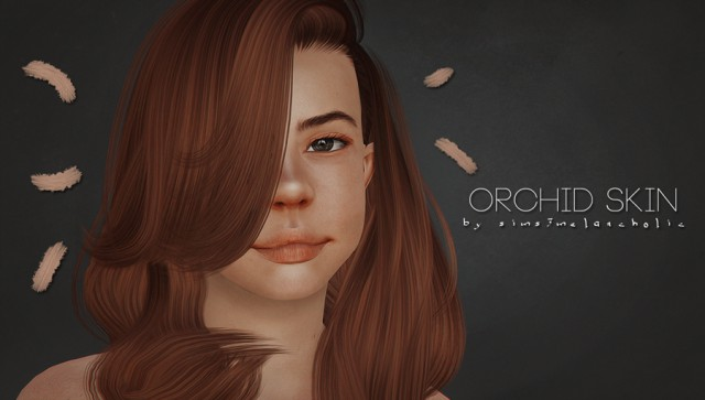 Orchid Skin by sims3melancholic