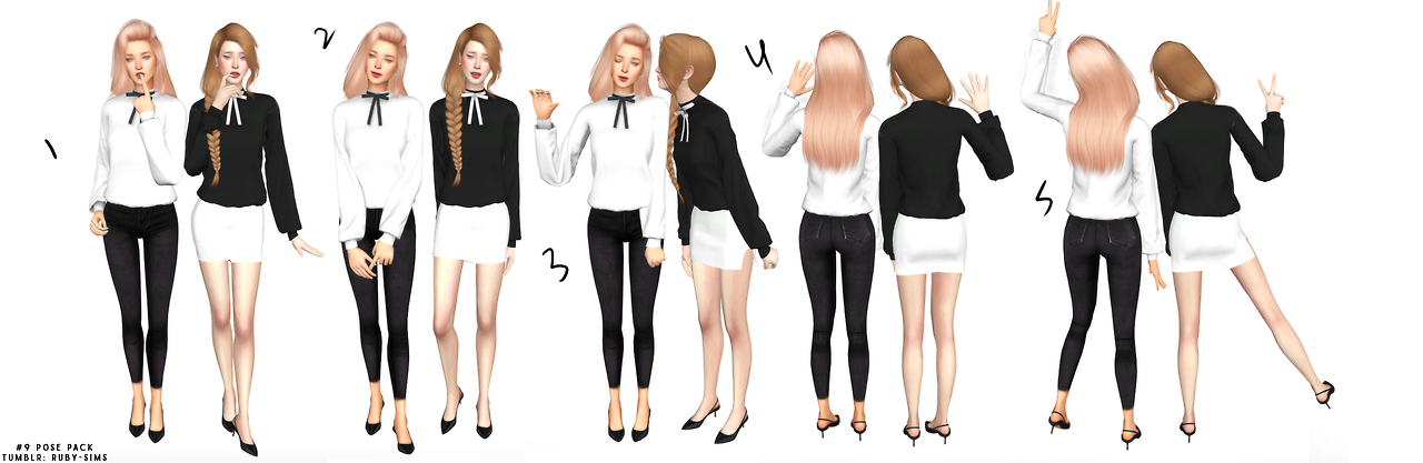 Poses by ruby-sims
