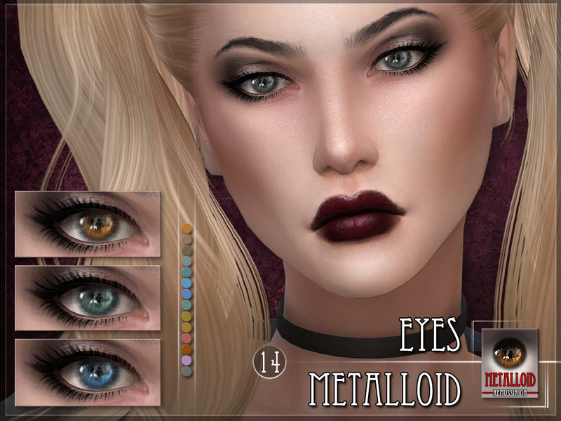 Metalloid Eyes by RemusSirion