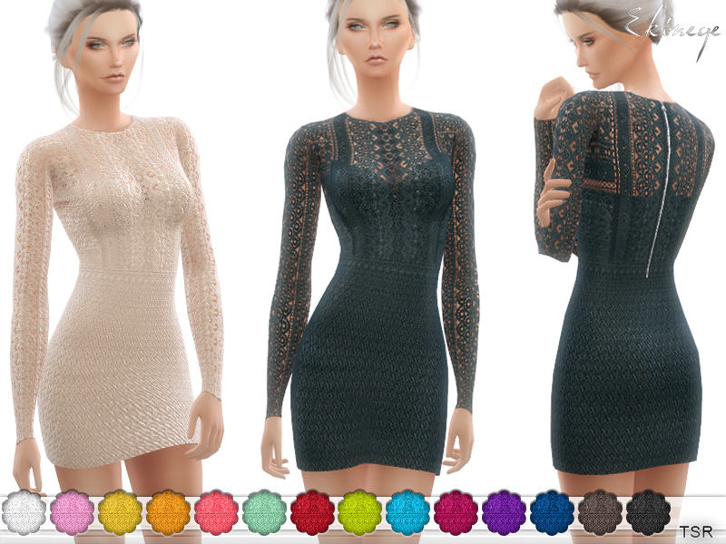 Crochet Lace Dress от ekinege