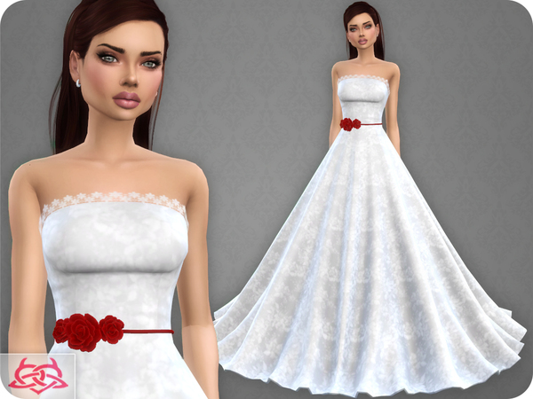Wedding Dress 9 RECOLOR 3 (Needs mesh) by Colores Urbanos