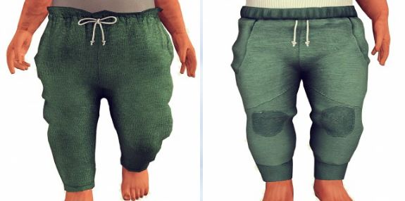 Pants for toddlers by Sketchbookpixels