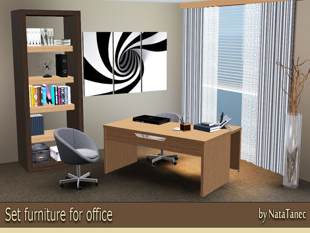 Set furniture for office by Natatanec