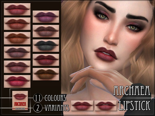 Archaea Lipstick by RemusSirion