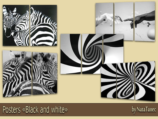 "Posters ""Black and white"" by Natatanec"