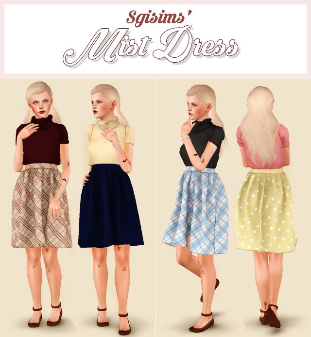 Mist Dress by SgiSims