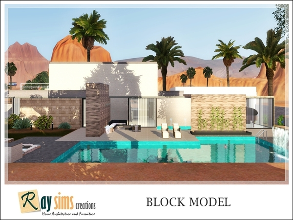 Block Model by Ray_Sims
