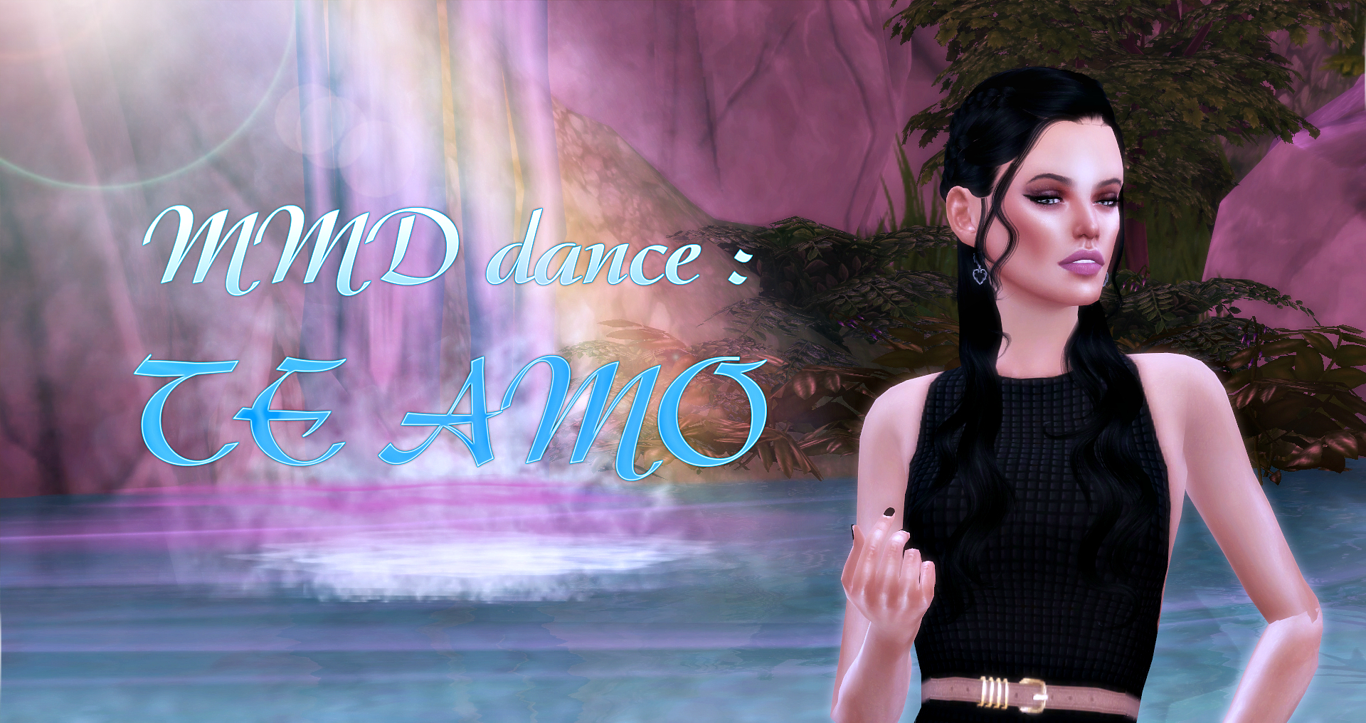 The sims 4 - MMD dance: TE AMO by conceptdesign97
