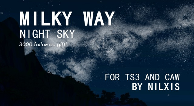 BYMilky Way Night Sky by Nilxis