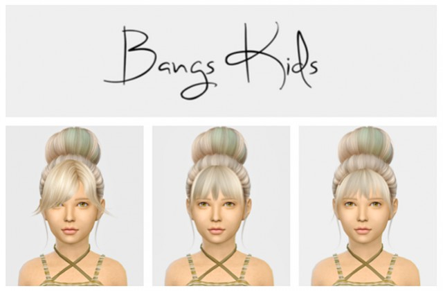 Bangs For Kids by Simiracle