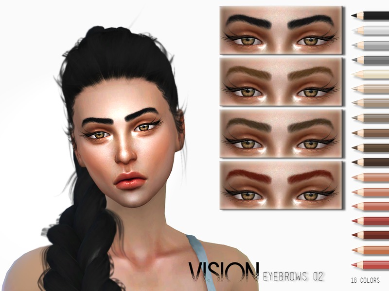 Vision Eyebrows V02 by Torque3