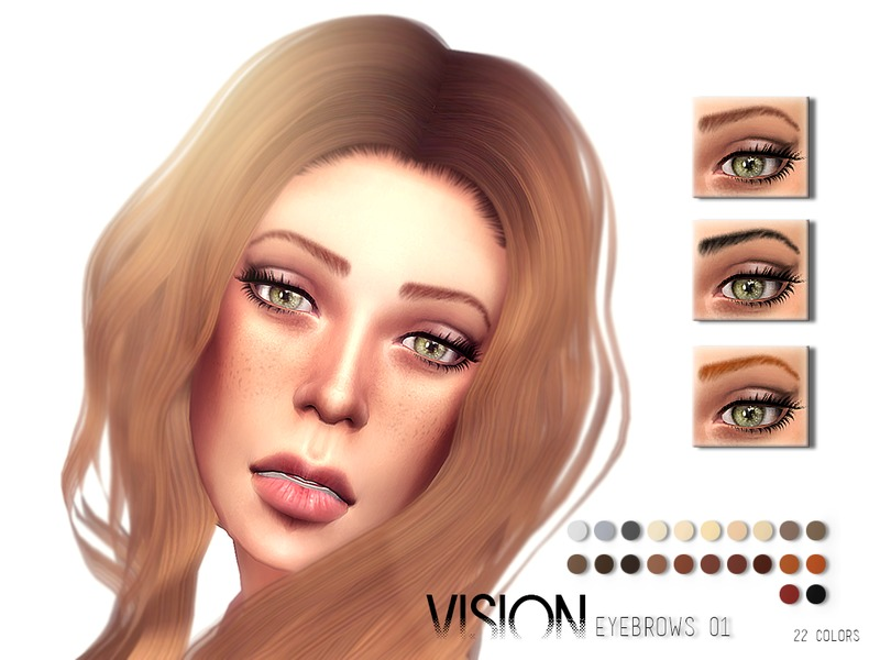 Vision Eyebrows V01 by Torque3
