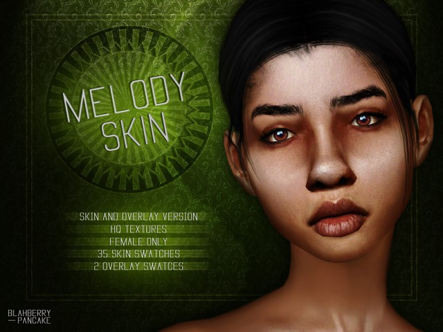 Melody Skin & Overlay by Blahberry Pancake
