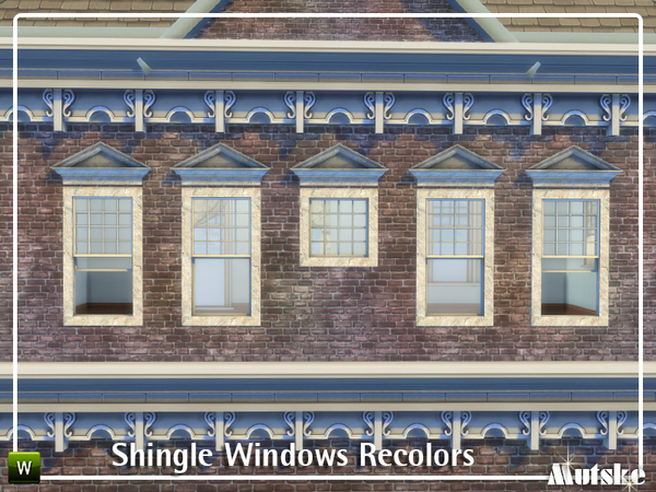 Shingle Windows Recolors by mutske