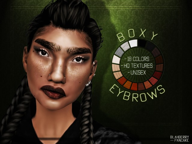Boxy Eyebrows by Blahberry Pancake