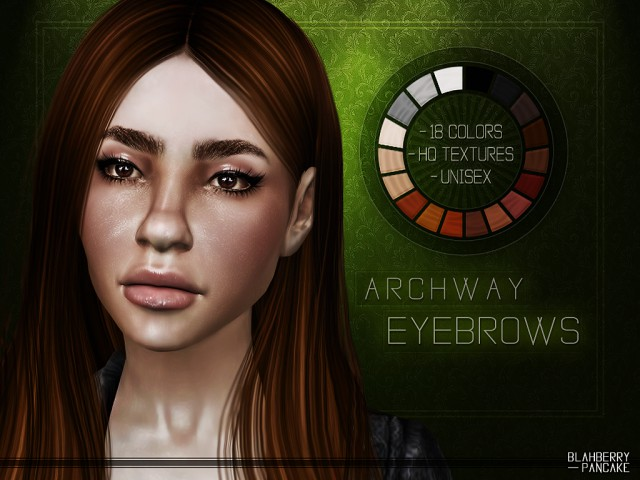 Archway Eyebrows by Blahberry Pancake