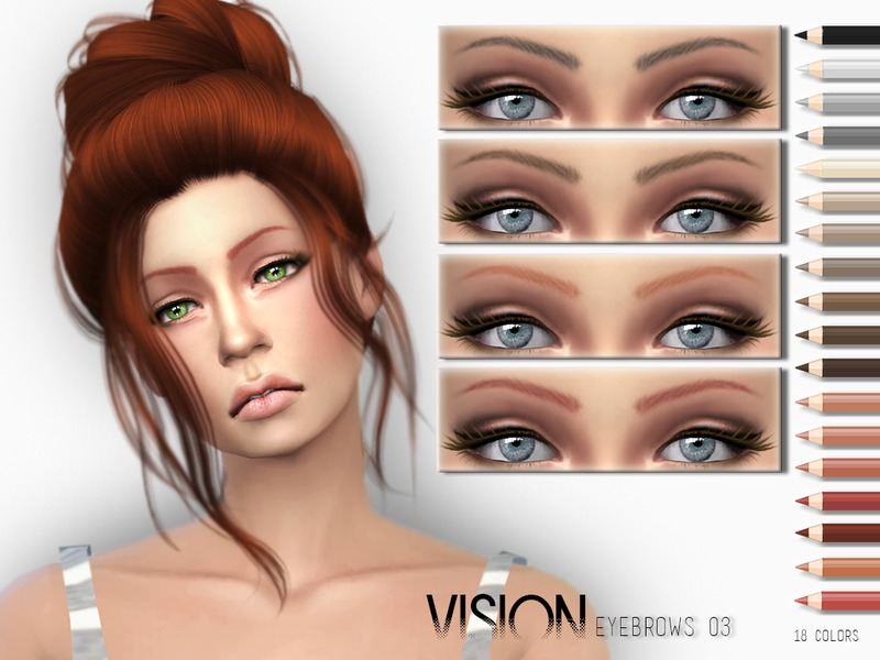 Vision Eyebrows V03 by Torque3