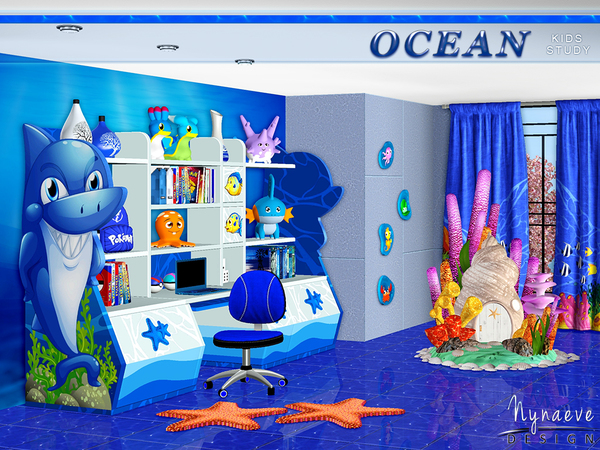 Ocean Kids Study by NynaeveDesign