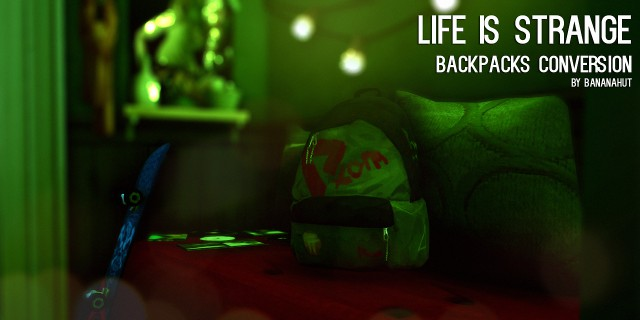 Life is strange backpack by bananahut
