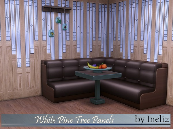 White Pine Tree Panels by Ineliz
