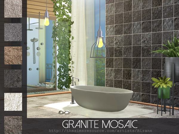 Granite Mosaic by Rirann