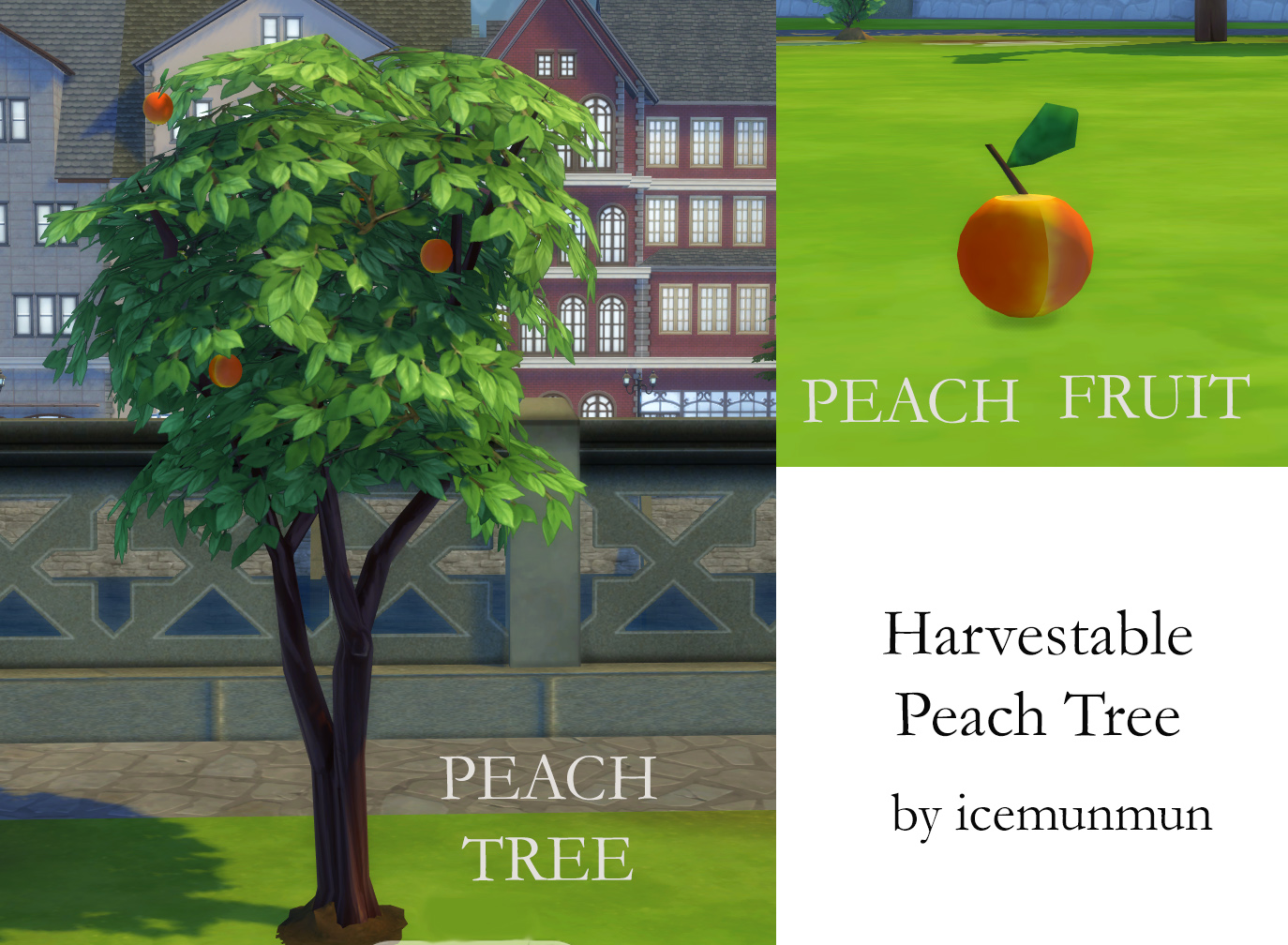 Harvestable Peach Tree by icemunmun