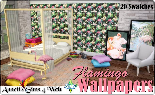 Flamingo Wallpapers by Annett85