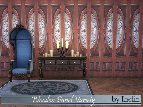 Wooden Panel Variety by Ineliz