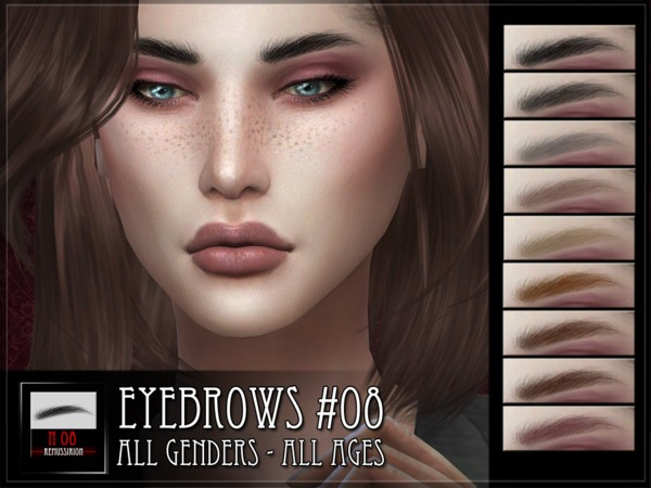 Eyebrows 08 by RemusSirion