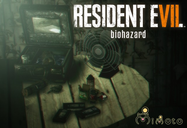 Resident Evil 7 Item Set I by Mimoto