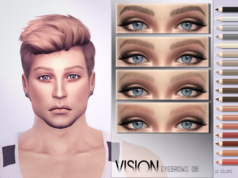 Vision Eyebrows V06 by Torque3