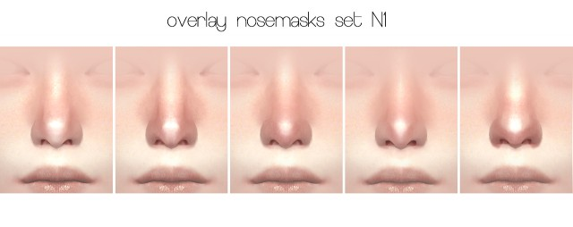 SKIN N1 OVERLAY & OVERLAY NOSEMASKS SET N1 by Obscurus