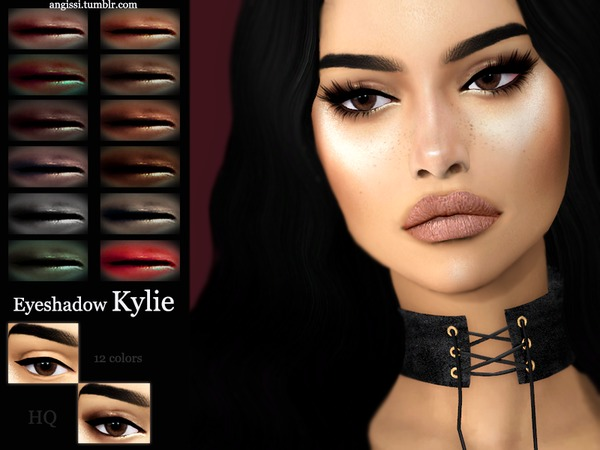 Eyeshadow - Kylie by ANGISSI