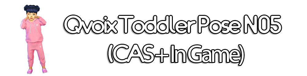 Toddler Poses by qvoix