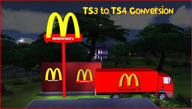 McDonalds set by lcsims